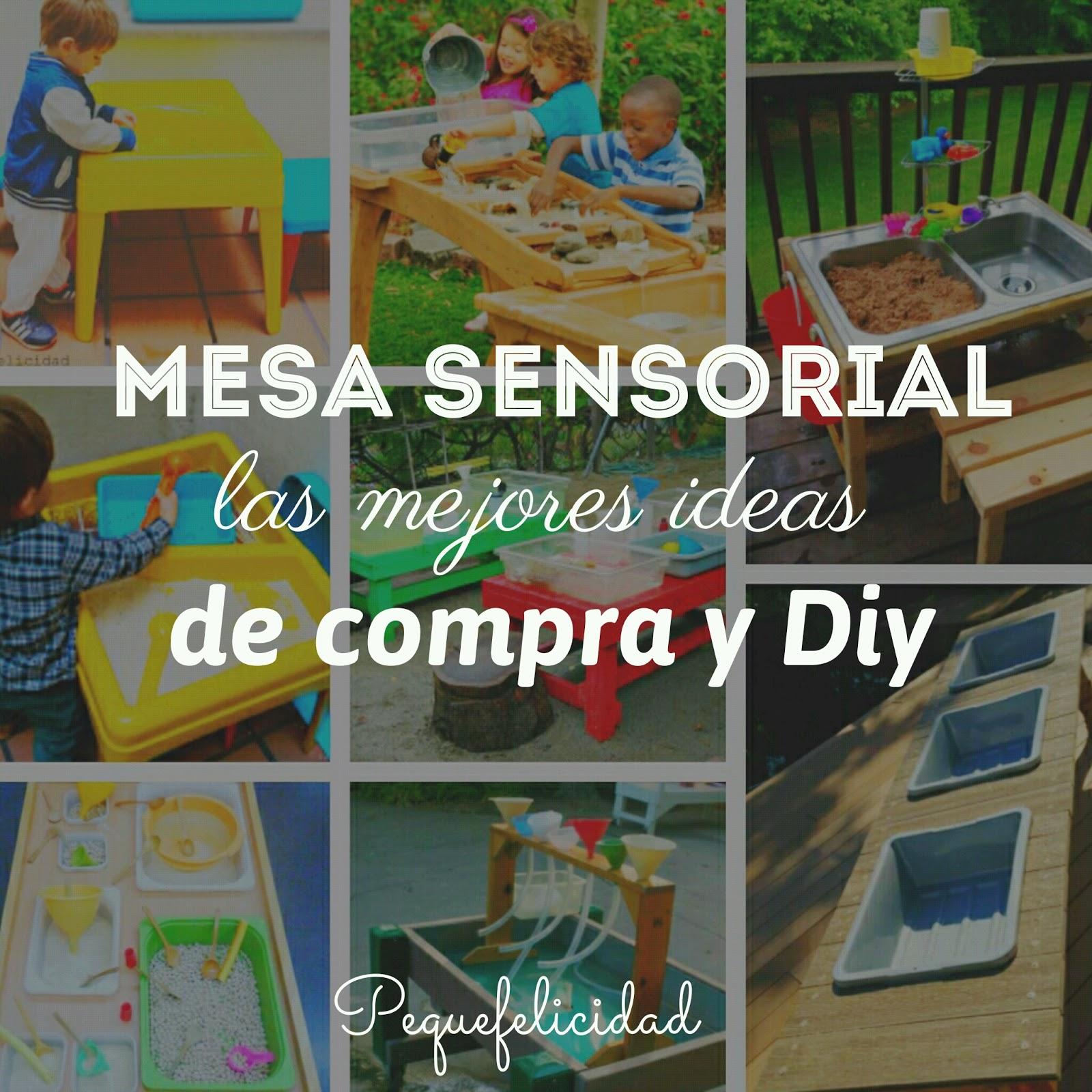 Pequefelicidad Mesa Sensorial Las Mejores Ideas De Compra Y Diy