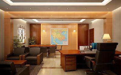 Thiết kế nội thất phòng giám đốc đẹp
