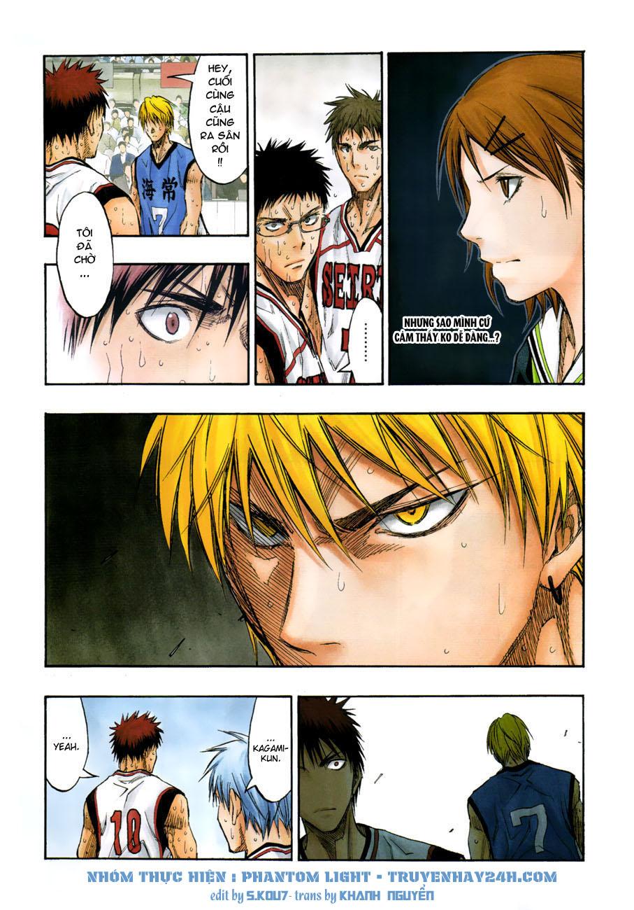 Kuroko No Basket chap 196 trang 3