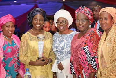 Abuja:Photographs: Wife of Lagos State Gov. Mrs Bolanle Ambode at Murya Magazine Excellent outstanding Awards