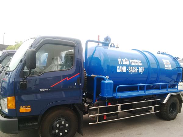Xe Hút chất thải Hyundai Hd72
