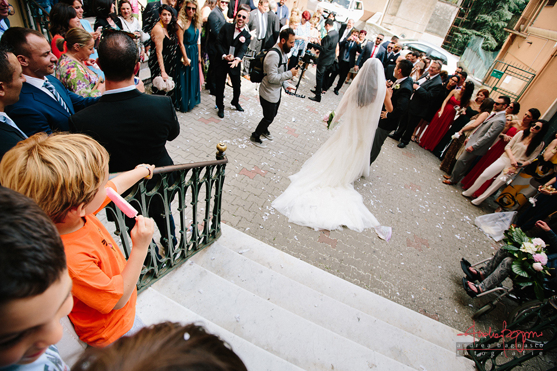 uscita sposi matrimonio Genova bambini Certosa