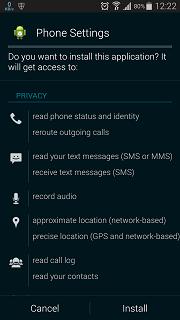 Cara Menginstall SMARTPHONE LOGS APK