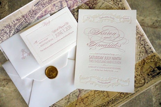 Buy Wedding Invitations Online Uk: Loving Wedding Invitation Wax Seals