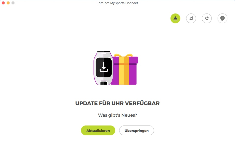 TomTom Connect Update
