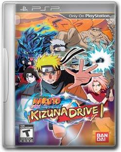 Download   Naruto Shippuden: Kizuna Drive   PSP EUA
