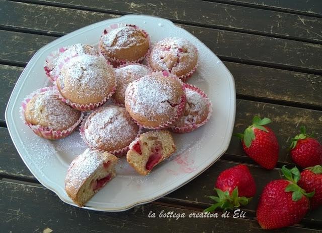 muffin-alle-fragole-ricetta