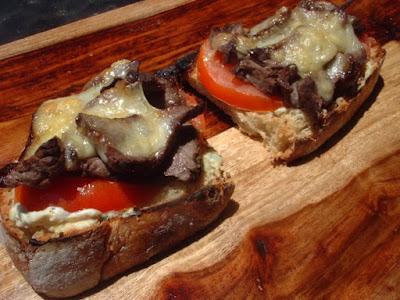 Lebanese Steak Sandwich