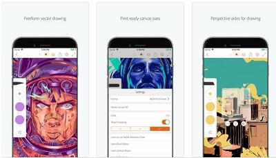 aplikasi menggambar iphone