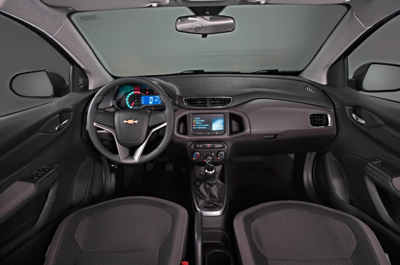 Chevrolet Prisma 2016 - interior - painel