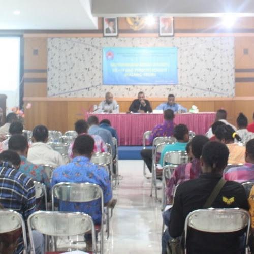 Mahasiswa Mamberamo Tengah Malang-Kediri Mengelar Musyawara Besar Ke IV