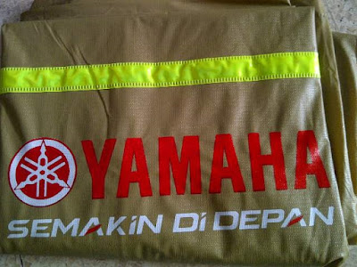Sablon Jas Hujan Yamaha
