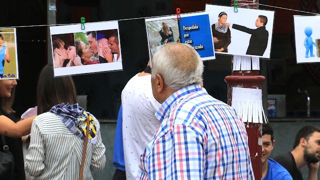 Exposición contra la homofobia, el racismo y el sexismo