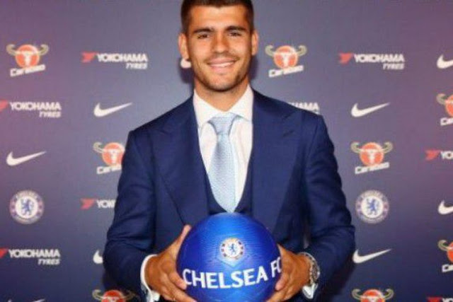 Gabung Chelsea, Morata Janji Akan Mencetak Banyak Goal