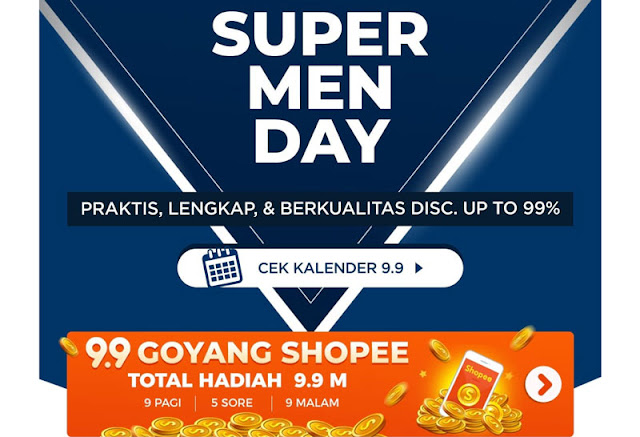 Heboh! Promo Belanja Gila-Gilaan Dari Shopee 9.9 Super Shopping Day