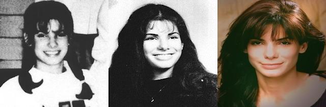 ساندرا بولوك ايام المراهقة