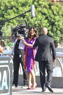 Priyanka Chopra in Beautiful Purple at universal studios ~ .xyz Exclusive 011.jpg