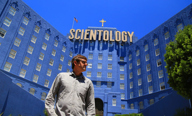 Outside the Scientology building
