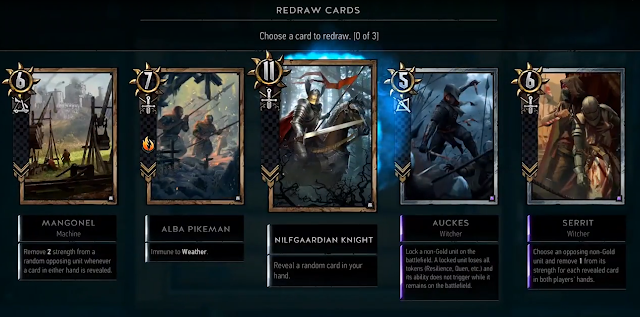 The Witcher Card