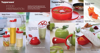 Tupperware food prepartion