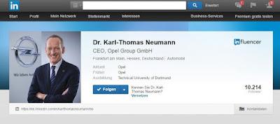 Τεράστιο ενδιαφέρον για τις Αναρτήσεις του CEO της Opel, Dr. Karl-Thomas Neumann
