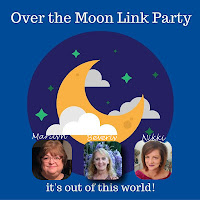 Over The Moon Linky Party Logo
