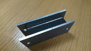 Image of TICO Sandwich Mount used specifically in the lift and escalator industry