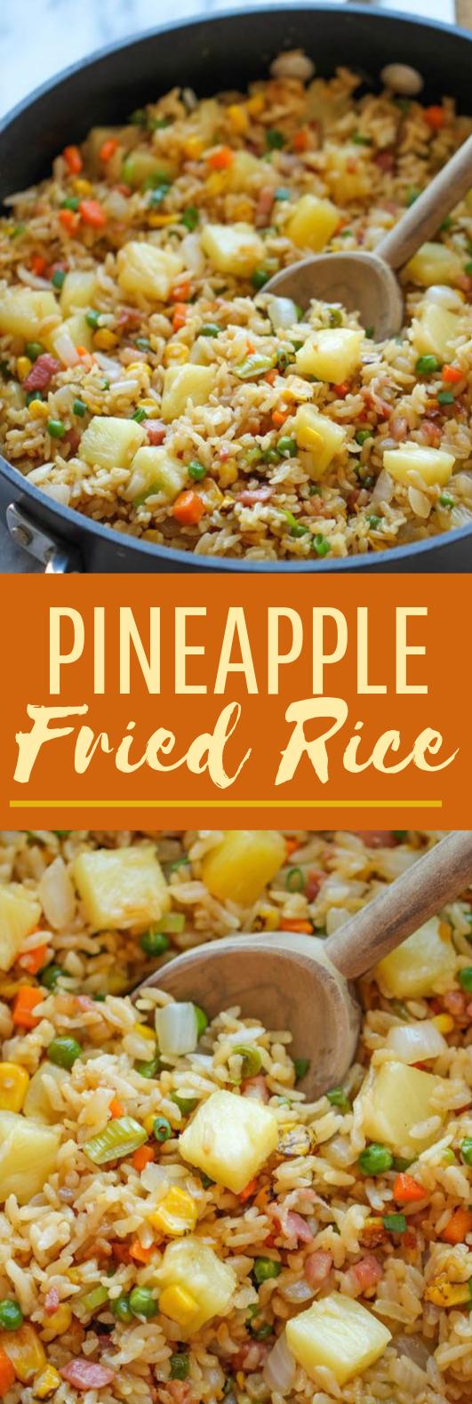 Pineapple Fried Rice #dinner #easy