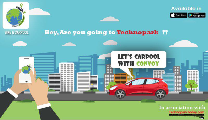 Convoy - The Ride sharing and carpooling app for techies by techies