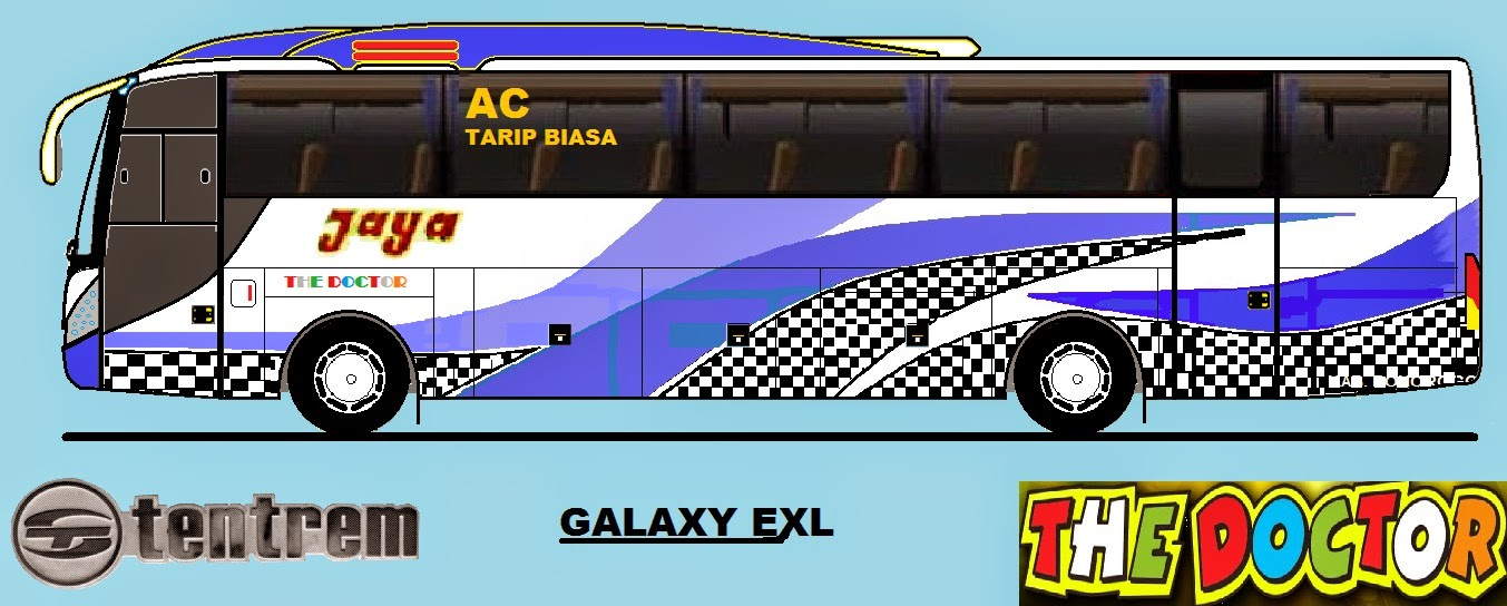 desain bus indonesia: kumpulan desain bus