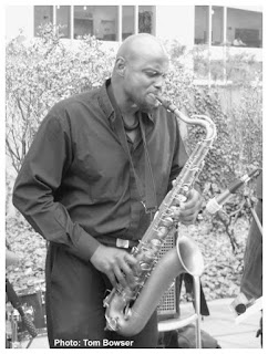 David Boykin - Tenor Saxophone | MCA Chicago Free Jazz Tuesdays| Photograph by Tom Bowser