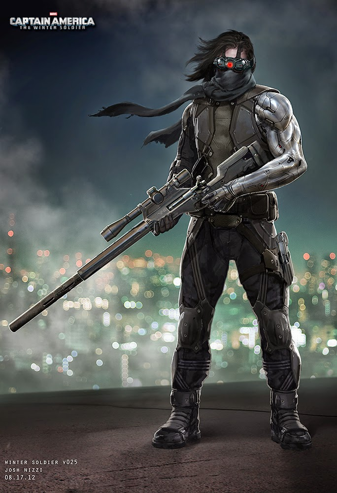 See What the Winter Soldier Almost Looked Like in CAPTAIN AMERICA: THE WINTER SOLDIER