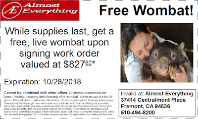 Wombat Coupon