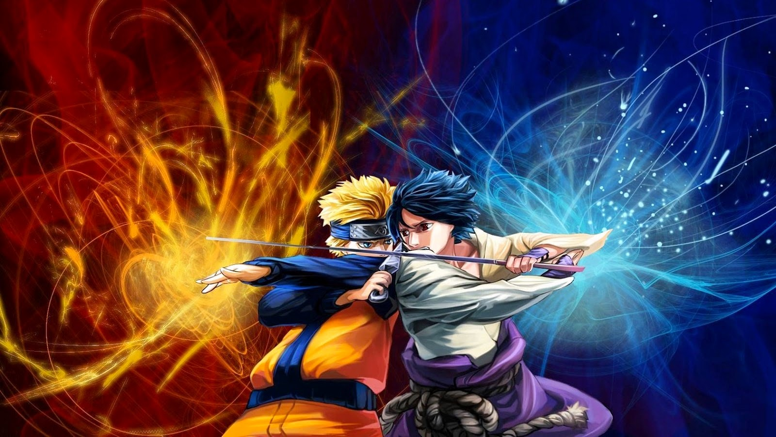 naruto vs  sasuke hd wallpapers