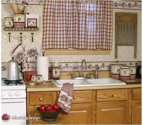 Elegant Kitchen Curtains 14