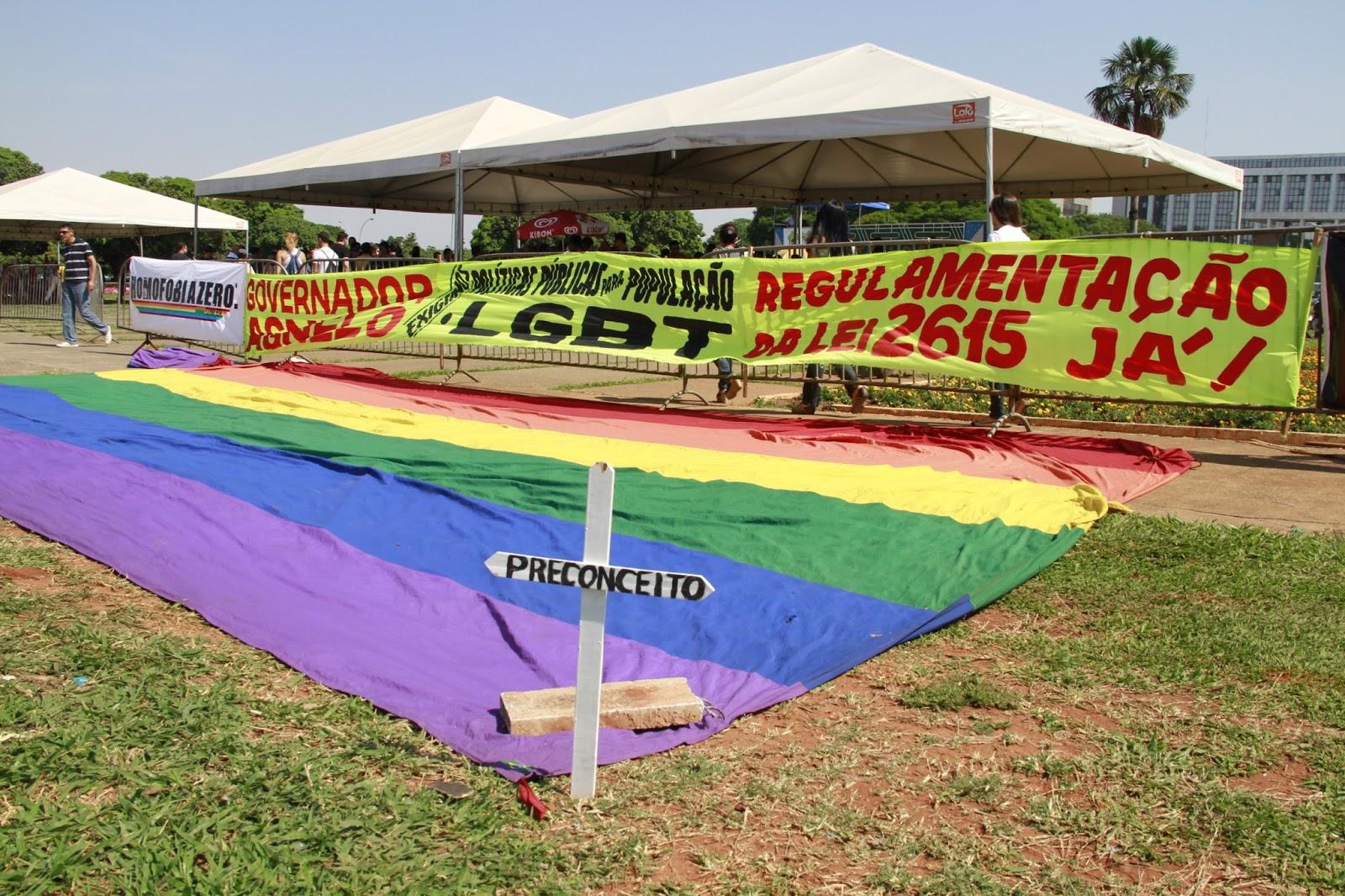 Ato na quinta-feira em Brasília pede regulamentação de lei que combate à LGBTfobia