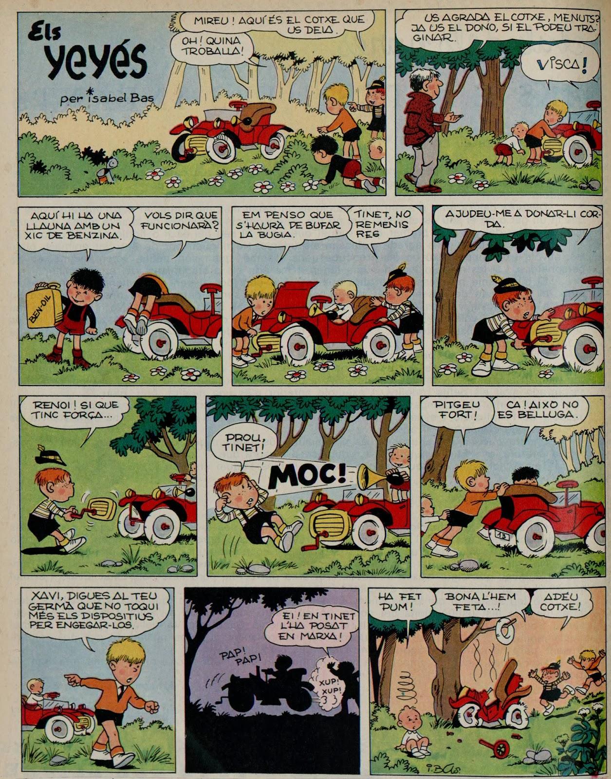 Els Yeyés, L' Infantil Tretzevents nº 66