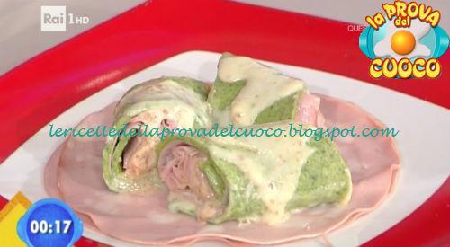 Crespella alla bieta con amaretti e mortadella ricetta Gandola da Prova del Cuoco