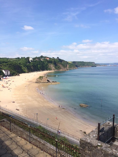 Tenby Harbour Beach most beautiful beach in Europe