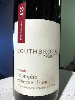 Southbrook Triomphe Cabernet Franc 2013 - VQA Niagara Peninsula, Ontario, Canada (89 pts)