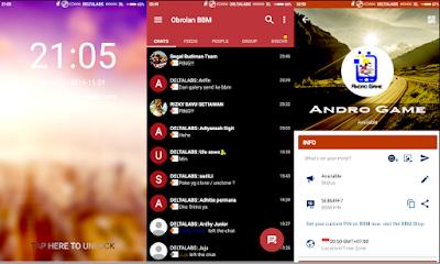 BBM DELTA Apk Android Versi Terbaru
