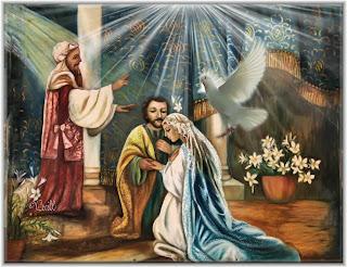 Resultado de imagen para San José y el Corazón nupcial de María