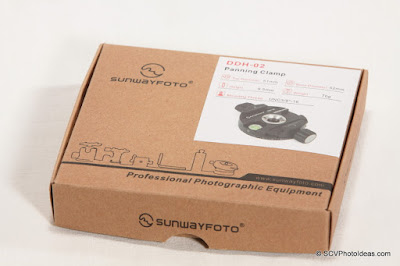Sunwayfoto DDH-02 Panning Clamp box