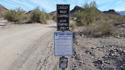 Return to Craggy Wash