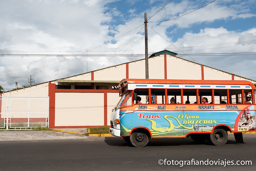 Autobús en Iquitos