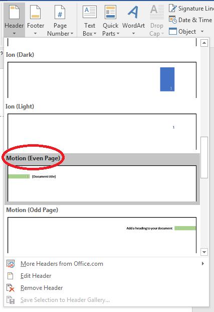 Cara Memunculkan Toolbar Di Word : memunculkan, toolbar, Header, Footer, Microsoft, Computer, Science