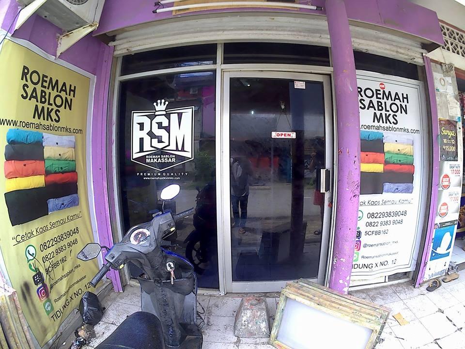 Lokasi Roemah Sablon Makassar