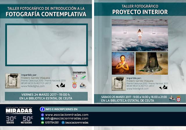 """""""Fotografía contemplativa"""" y """"Proyecto interior"""" por Frederic Garrido"""