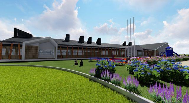 Proyecto de reconstrucción de Escuela Rural Walterio Meyer Rusca