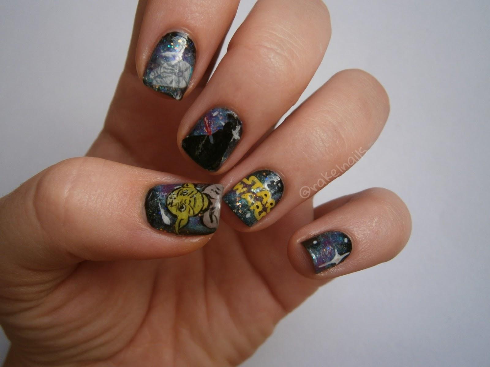 Rakel nails ❁: ¡Feliz día del orgullo friki! Star Wars, Kindomg ...